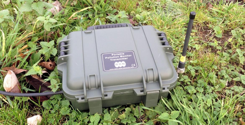 Portable Pollution Monitoring Transmitter