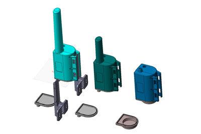 Transmitter Housing CAD screen shot