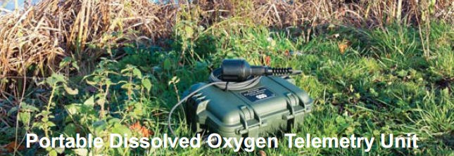 Portable Dissolved Oxygen Monitoring with text