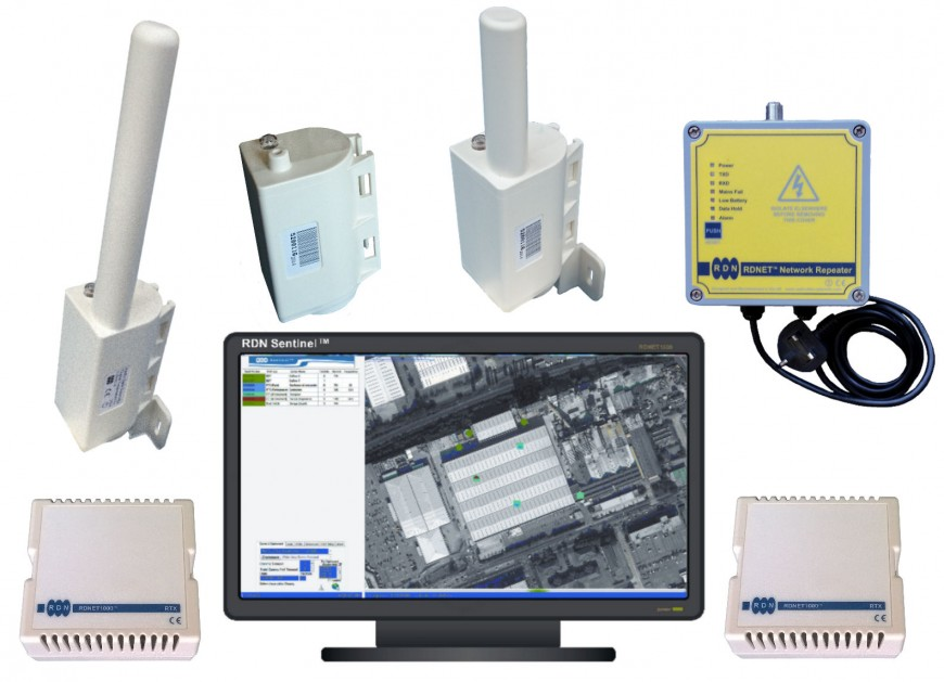 Temperature Monitoring Transmitters with Sentinel FM Logging and Alarm Software