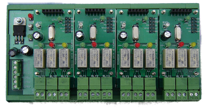 Modular Gateway Telemetry Receiver with RS485 Interface