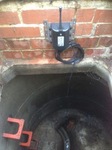 Blocked Sewer Alarm Installed