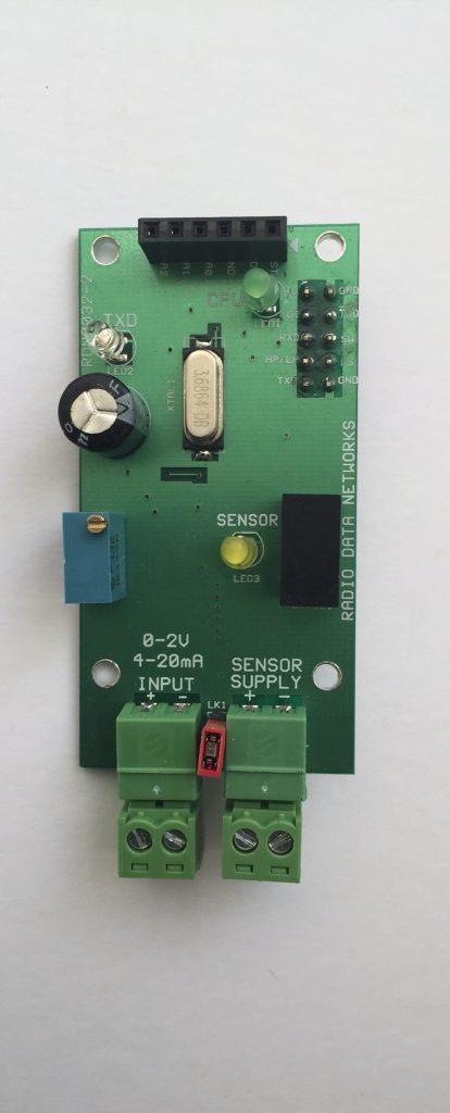 Analogue radio telemetry card