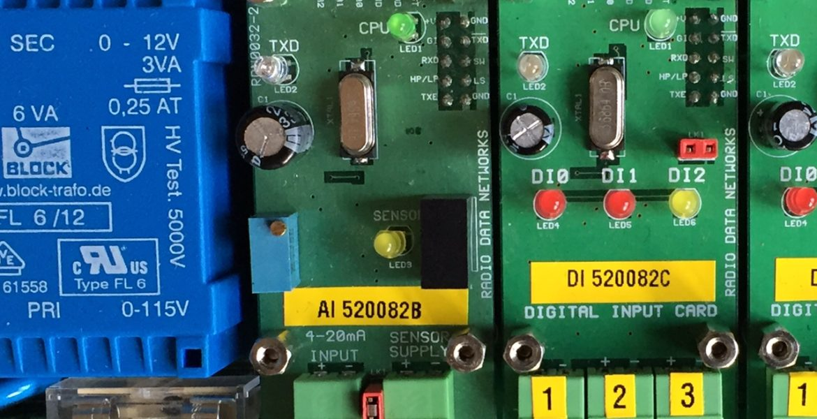 Analogue 4-20mA Radio Telemetry Input Card