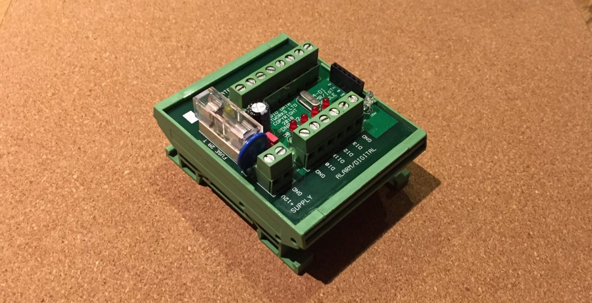 35mm DIN Rail Mounted Satellite and PMR Interface