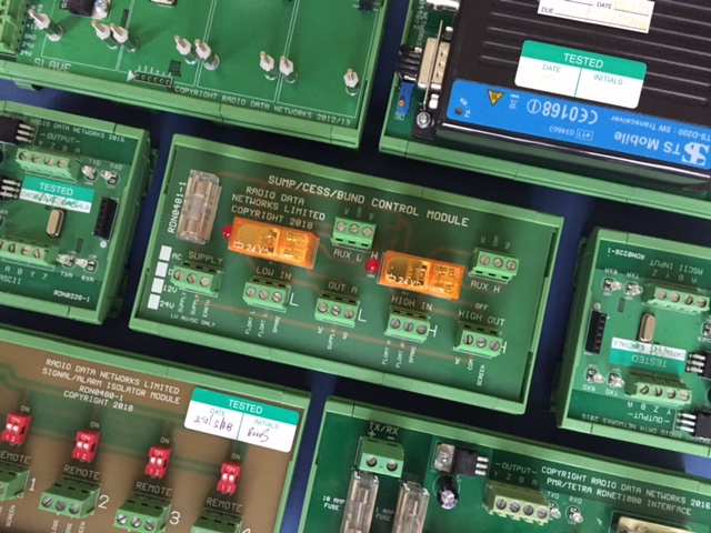 DIN Rail 35mm Modules by Radio Data Networks