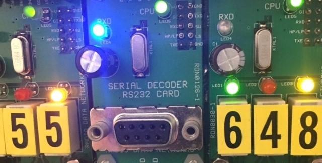 Serial DataDecoder Card