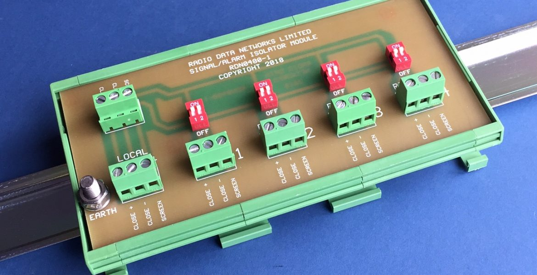 Signal Isolator Module Multiplexer