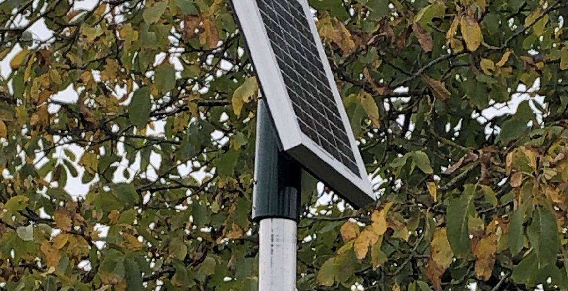 Solar powered telemetry